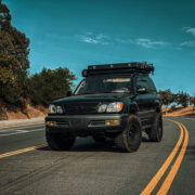 1st gen Lifted Lexus LX470 with off-road and overland style modifications