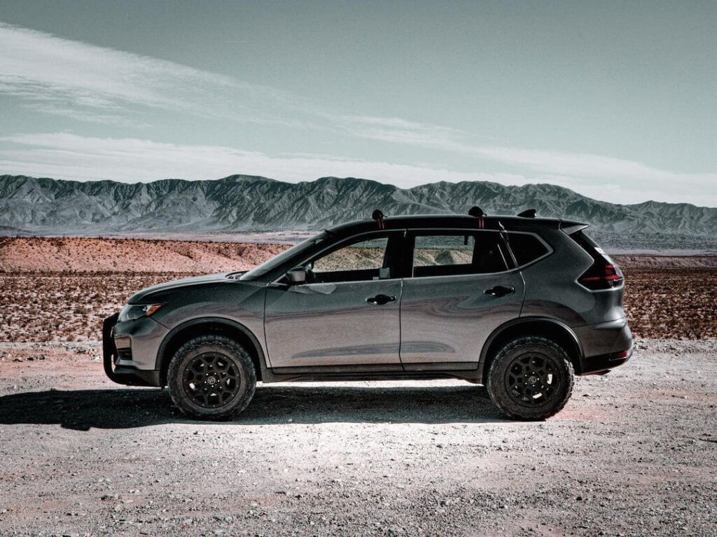 Nissan Rogue / Xtrail T32 2 inch lift and off-road tires