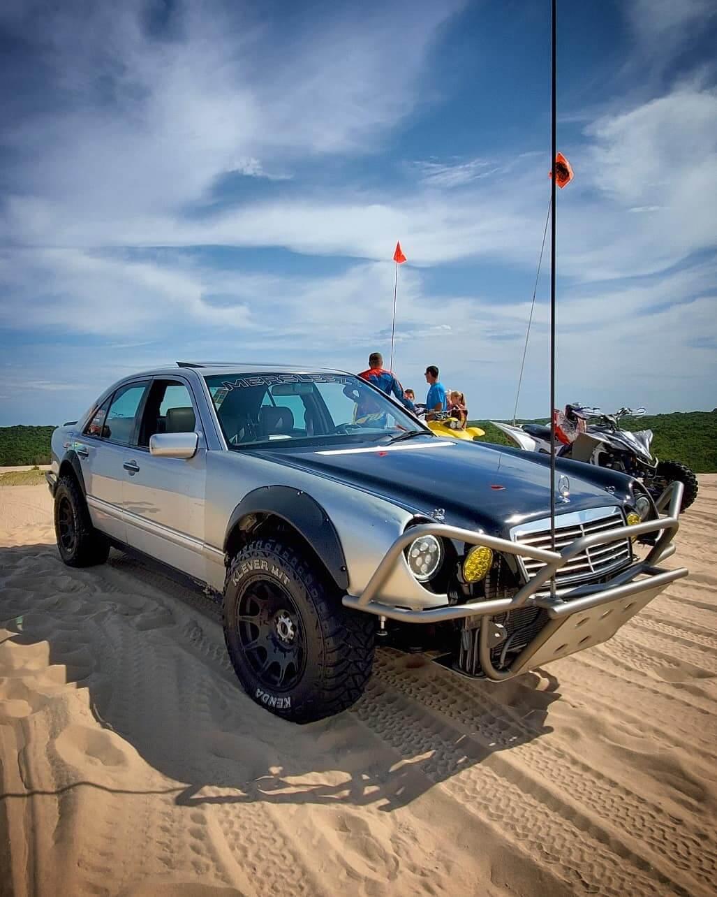 Mercedes Off-road modifications