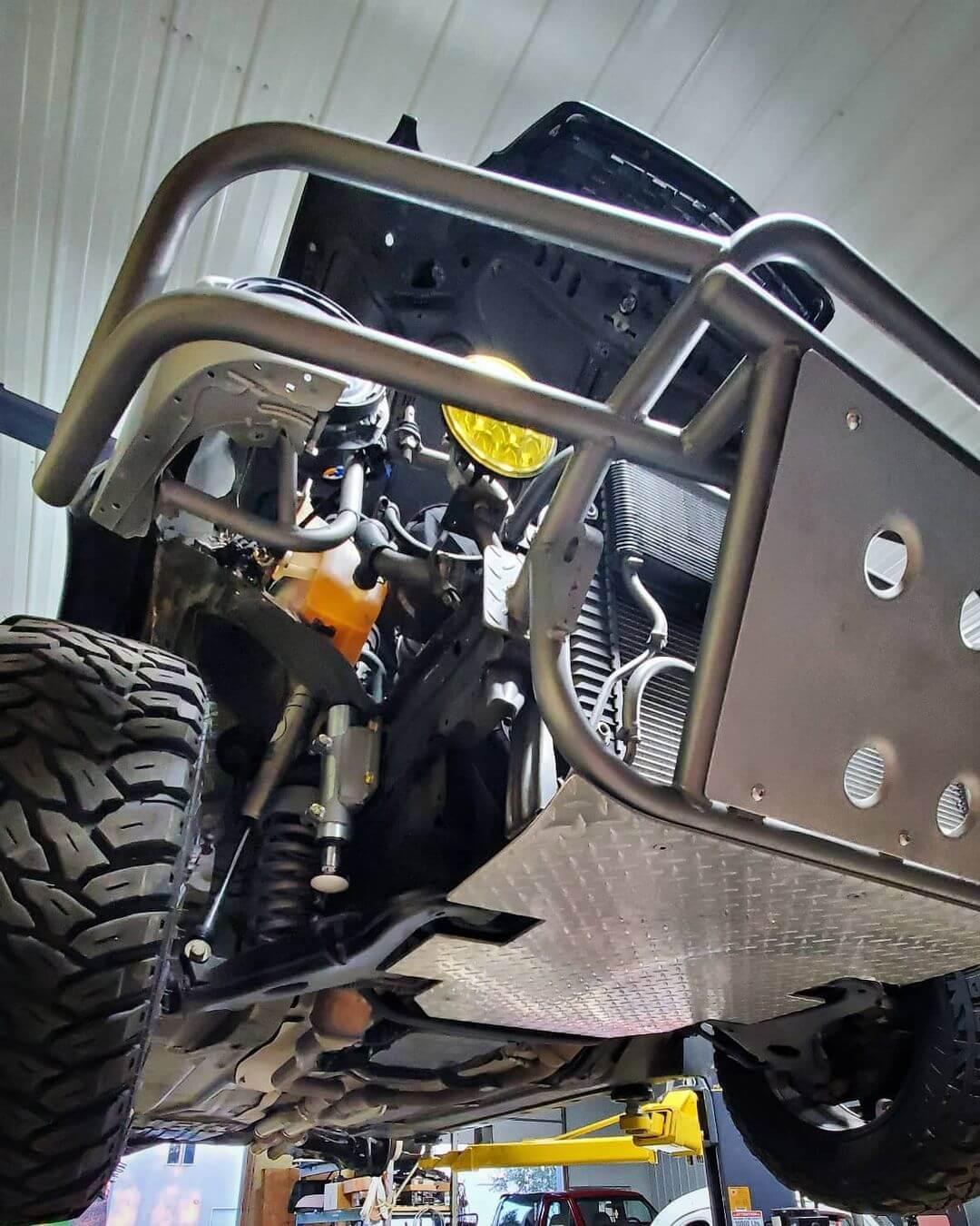 DIY prerunner car build