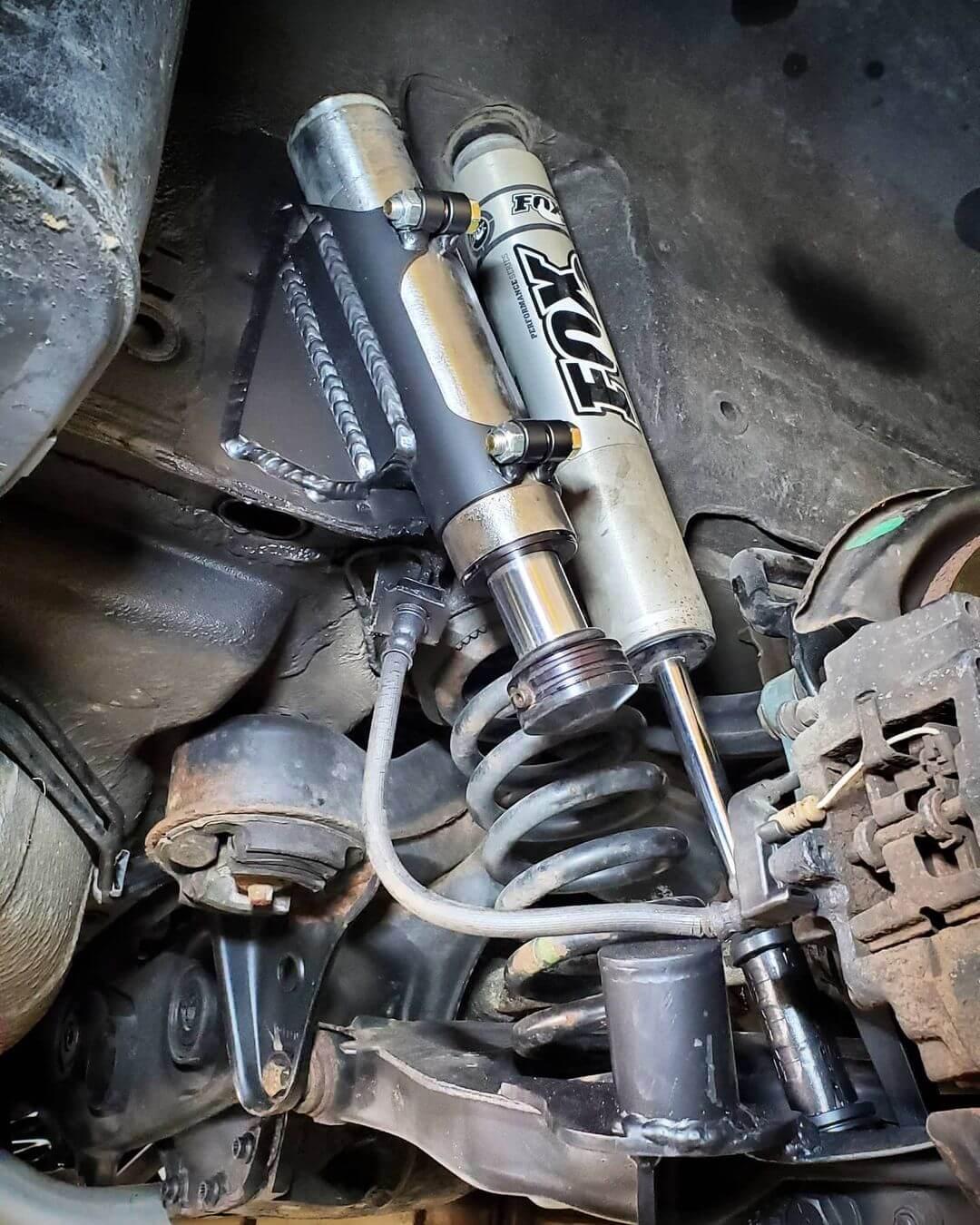 Long Travel suspension with Fox Shocks