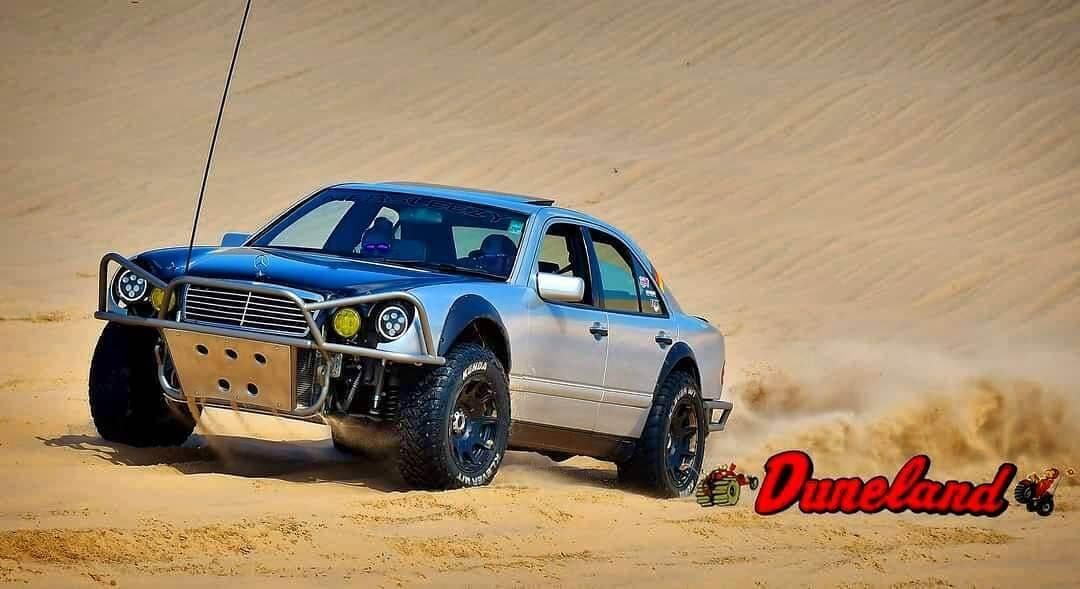 Mercedes Prerunner desert racing