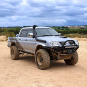 2005 Mitsubishi L200 with Lexus V8 Power Under the Hood