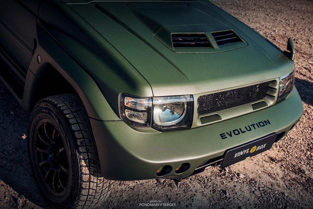 Mmc Mitsubishi Pajero Evolution Hood