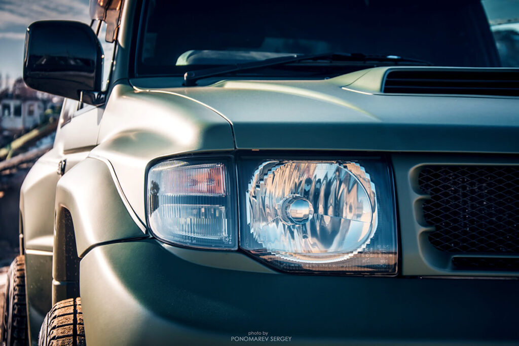 Mmc Mitsubishi Pajero Evolution Hood scoop