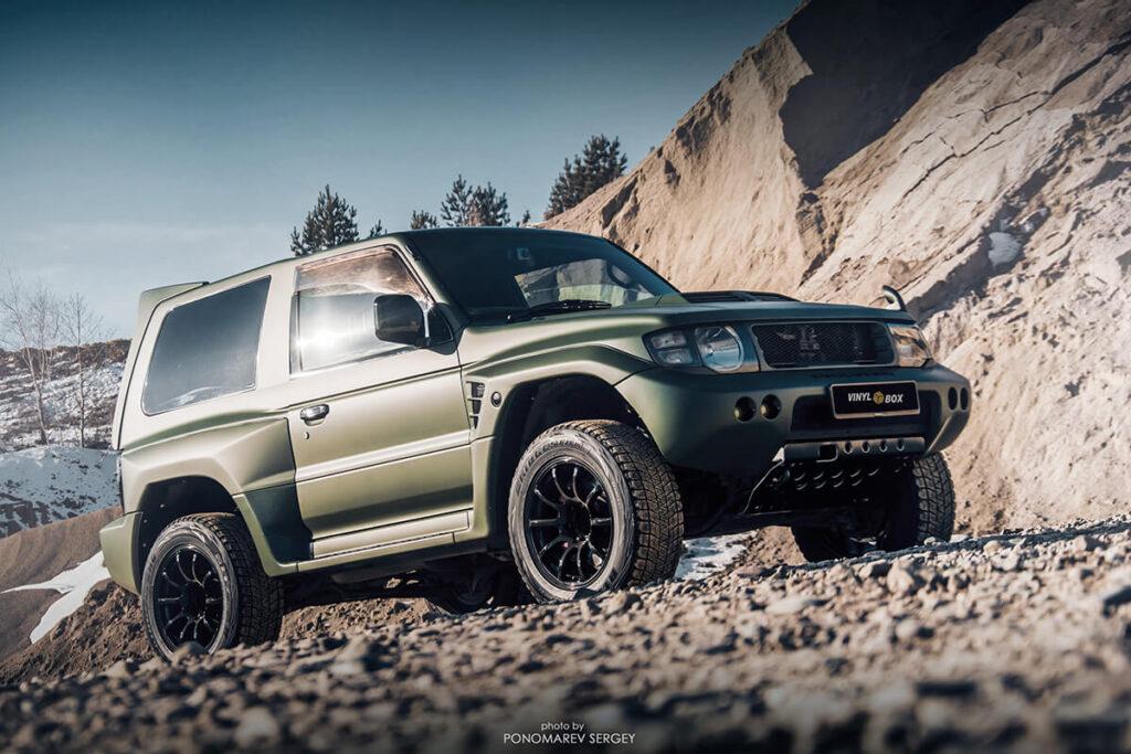 Mmc Mitsubishi Pajero Evolution Specs and technical characteristics