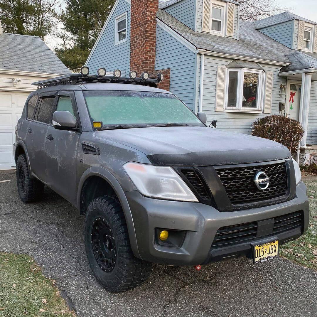 Nissan Armada Federal xplora R/T 35×12.5×18 tires