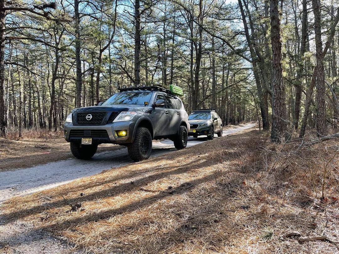 Lifted Nissan Armada 2nd generation - Patrol Y62