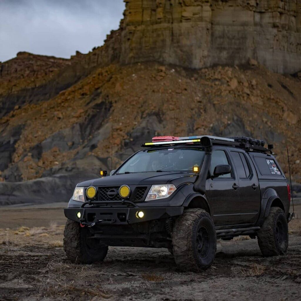 Nissan Frontier with Airflow Snorkel