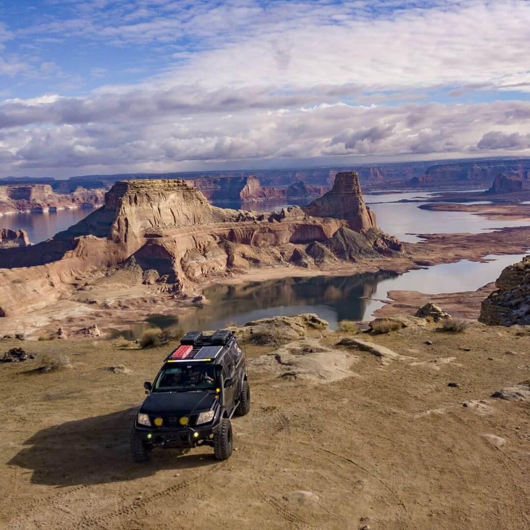 Nissan Frontier off-road adventures