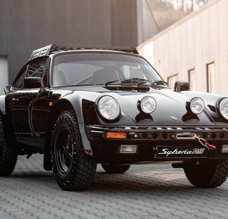 Safari style Porsche 911 Syberia RS by Kai Burkhard