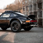 Clean Porsche 911 Safari in Black
