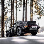 Porsche 911 off-roading