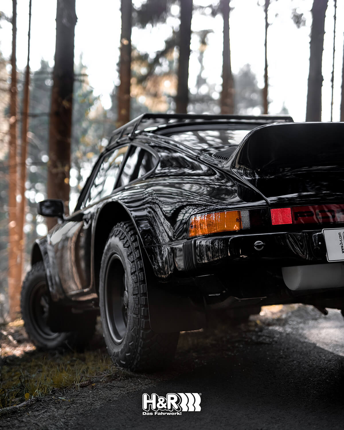 Porsche 911 Wide off-road fenders