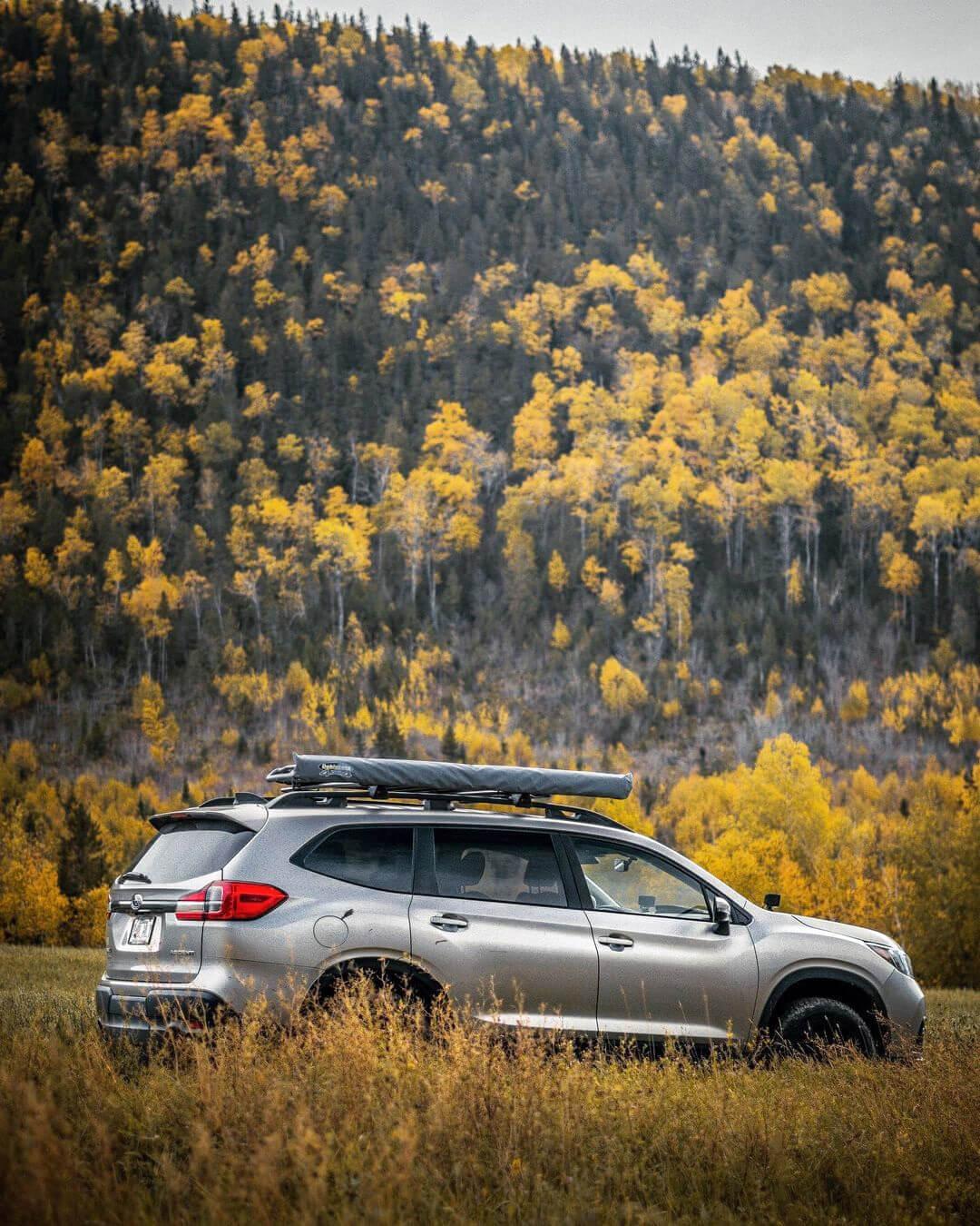 Dobinsons USA Medium Awning On Subaru Ascent