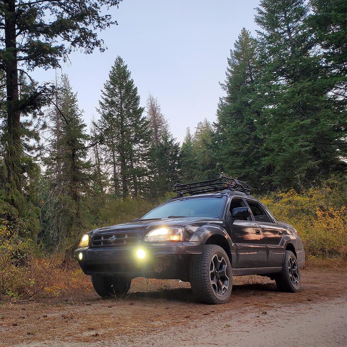 Subaru Baja 2 inch lift kit