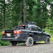 Subaru Baja pickup truck off-road adventures
