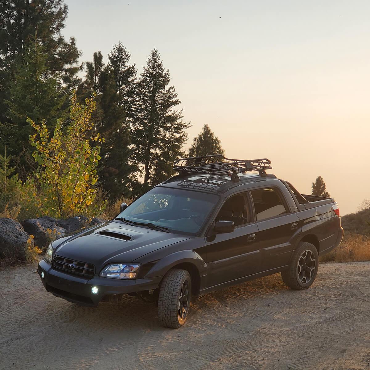 Subaru Baja off-road truck