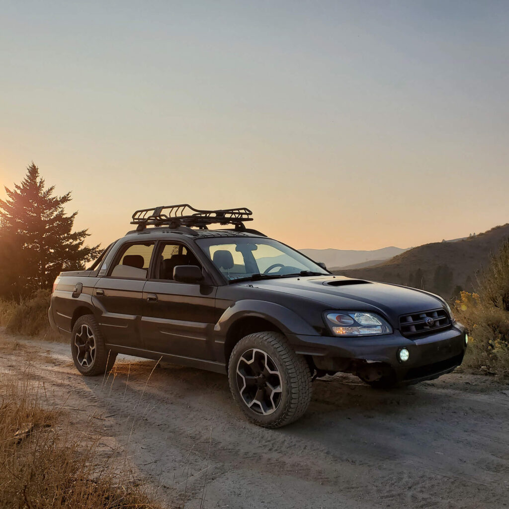 Lifted 2005 Subaru Baja Turbo Off-road roject