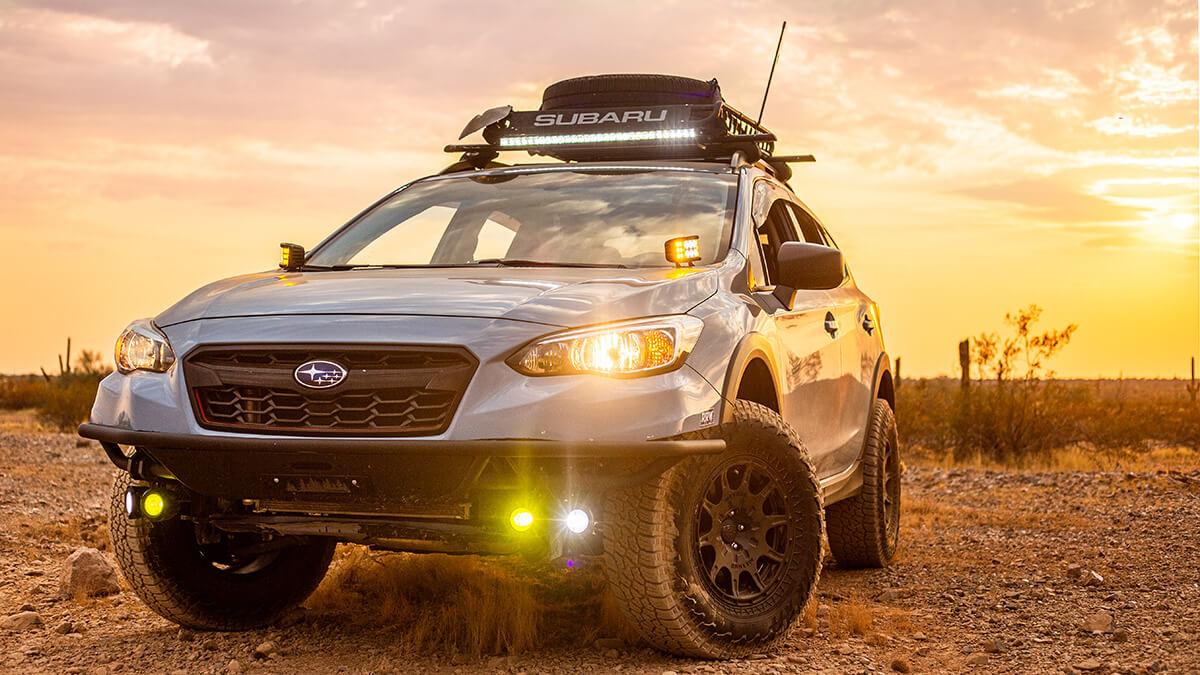 Subaru Crosstrek 31 inch LED lightbar