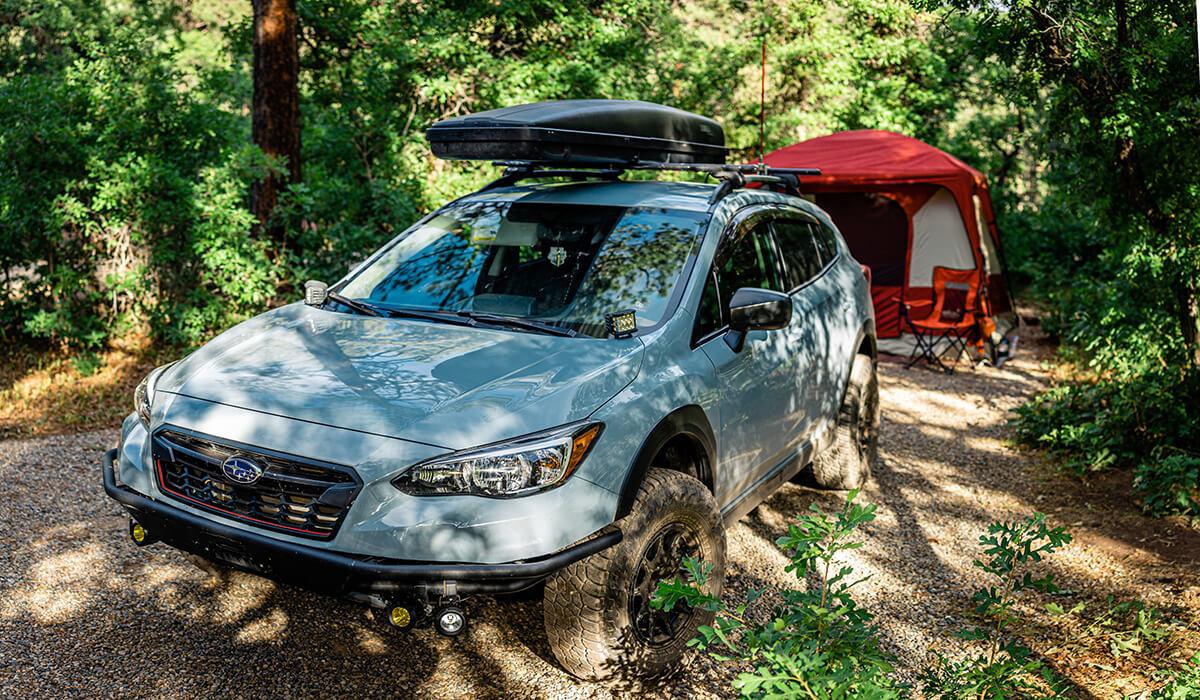 Subaru Crosstrek off road buld