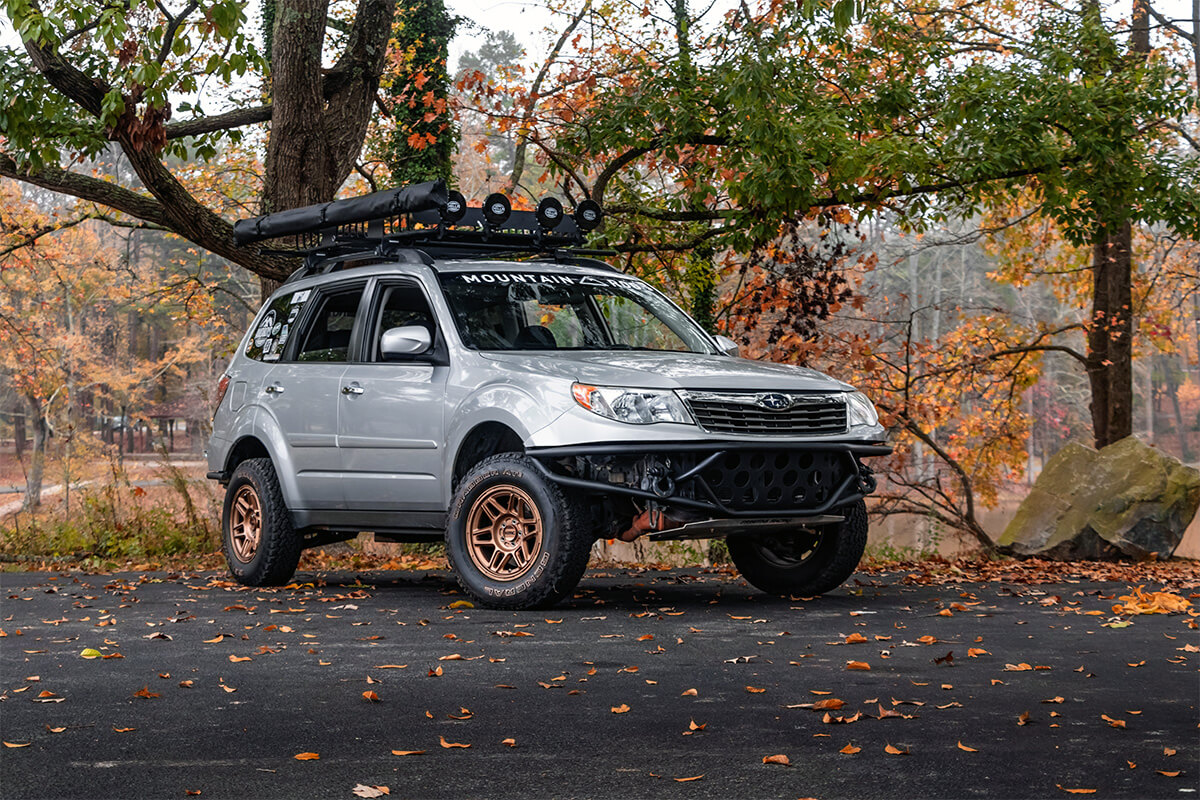 3rd gen Subaru Forester Overland project