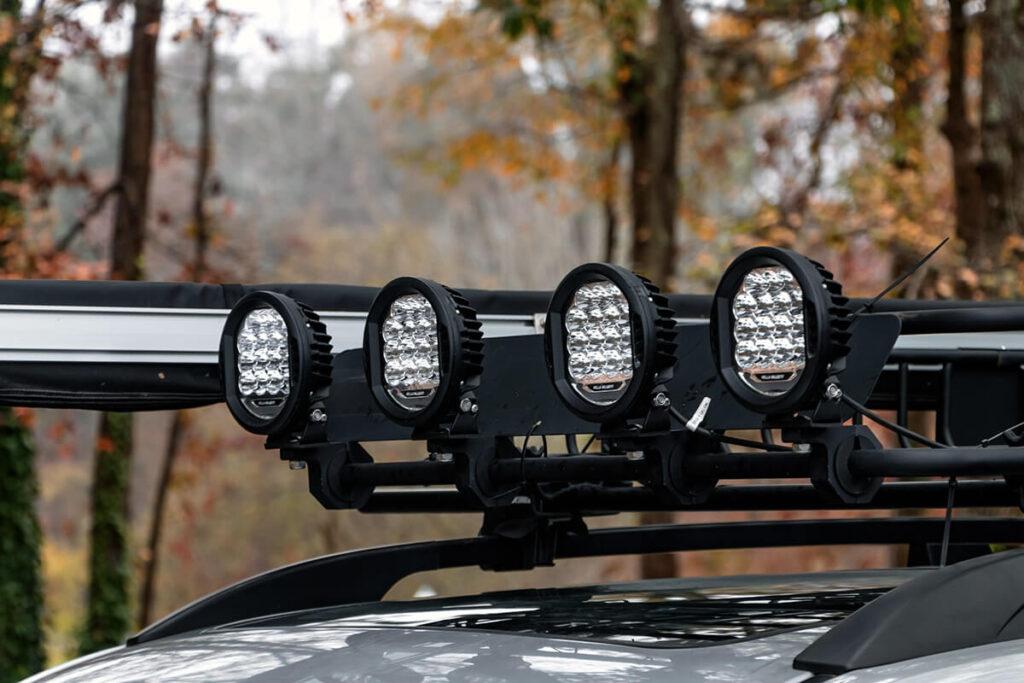 4, Hella Valuefit LED spot lights
