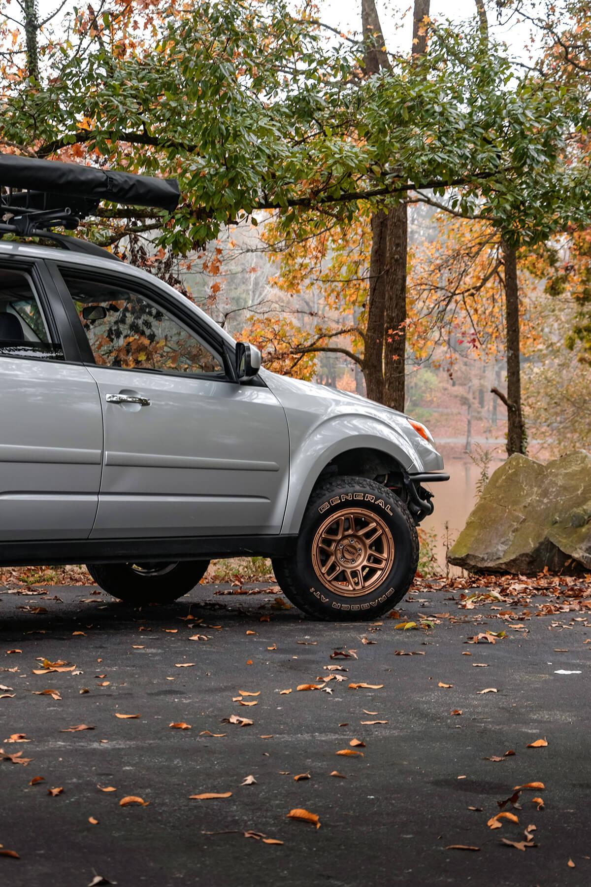Subaru Forester custom front bumper delete