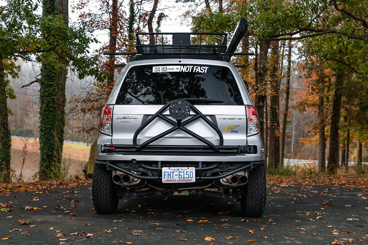 TRF custom tube rear bumper