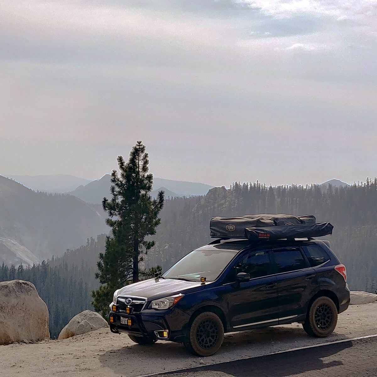 Subaru forester SJ off road mods and a roof rack