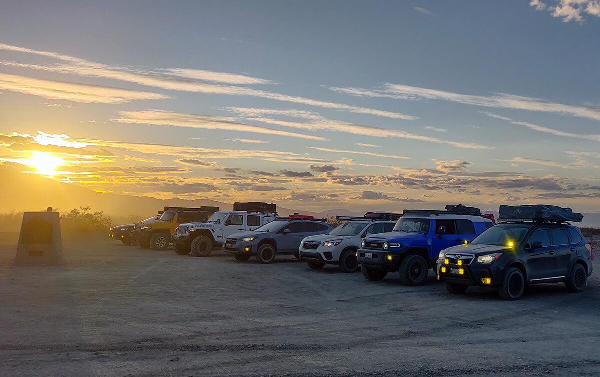 Subaru forester SJ vs Crosstrek, Toyota FJ and Jeep Wrangler