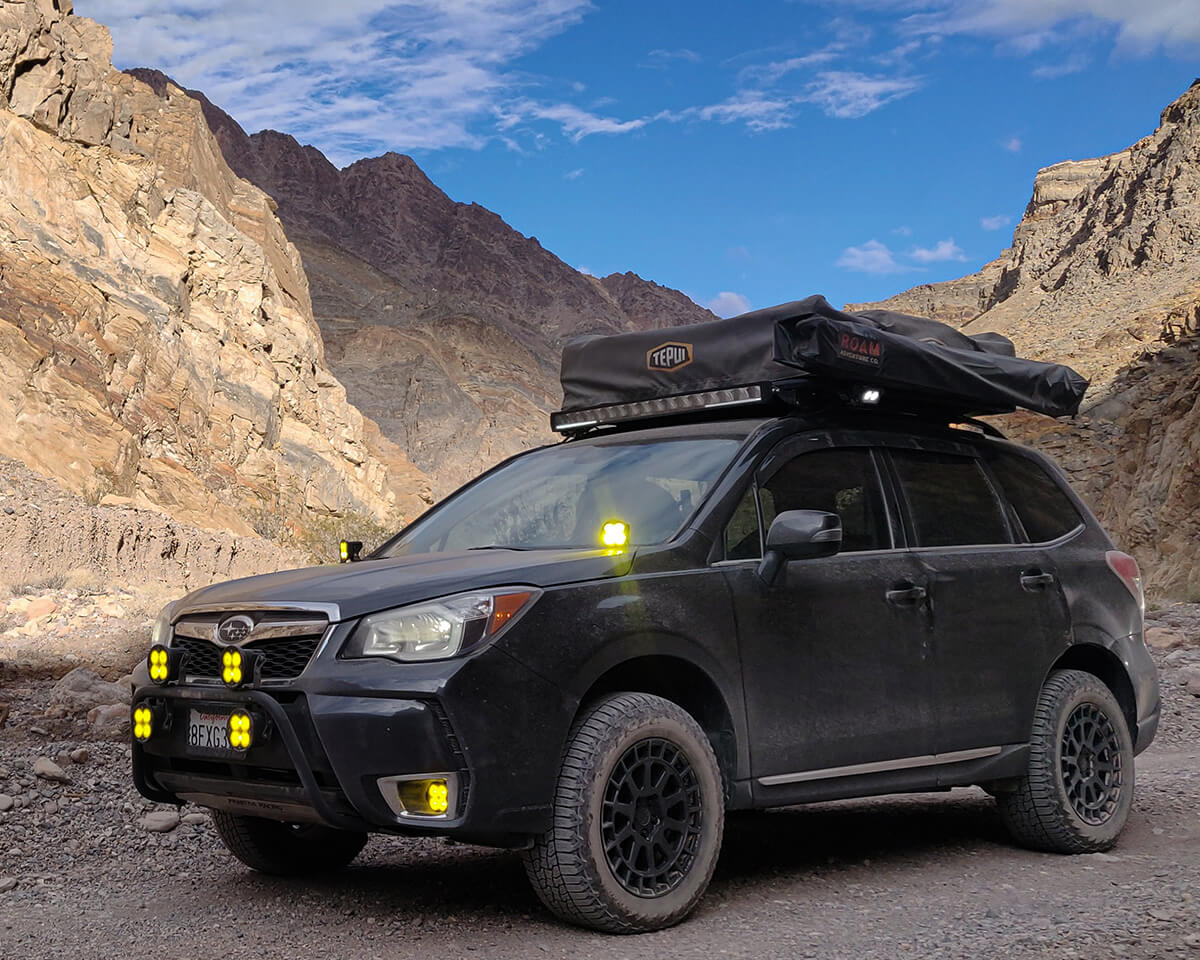 Subaru Forester SJ off road lights LED by Diode Dynamics