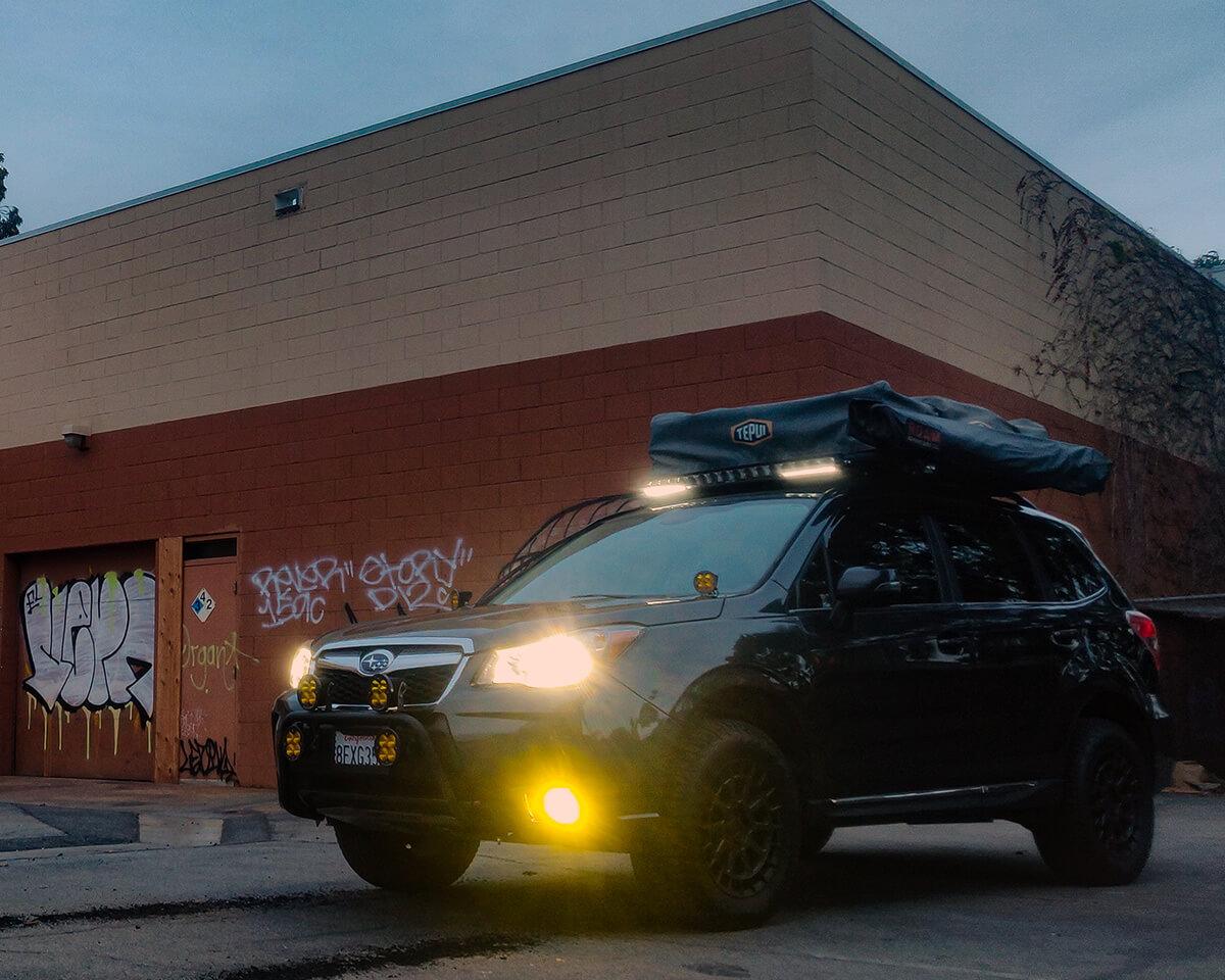 Subaru Forester SJ Diode Dynamics SS3 Fog Lights Yellow