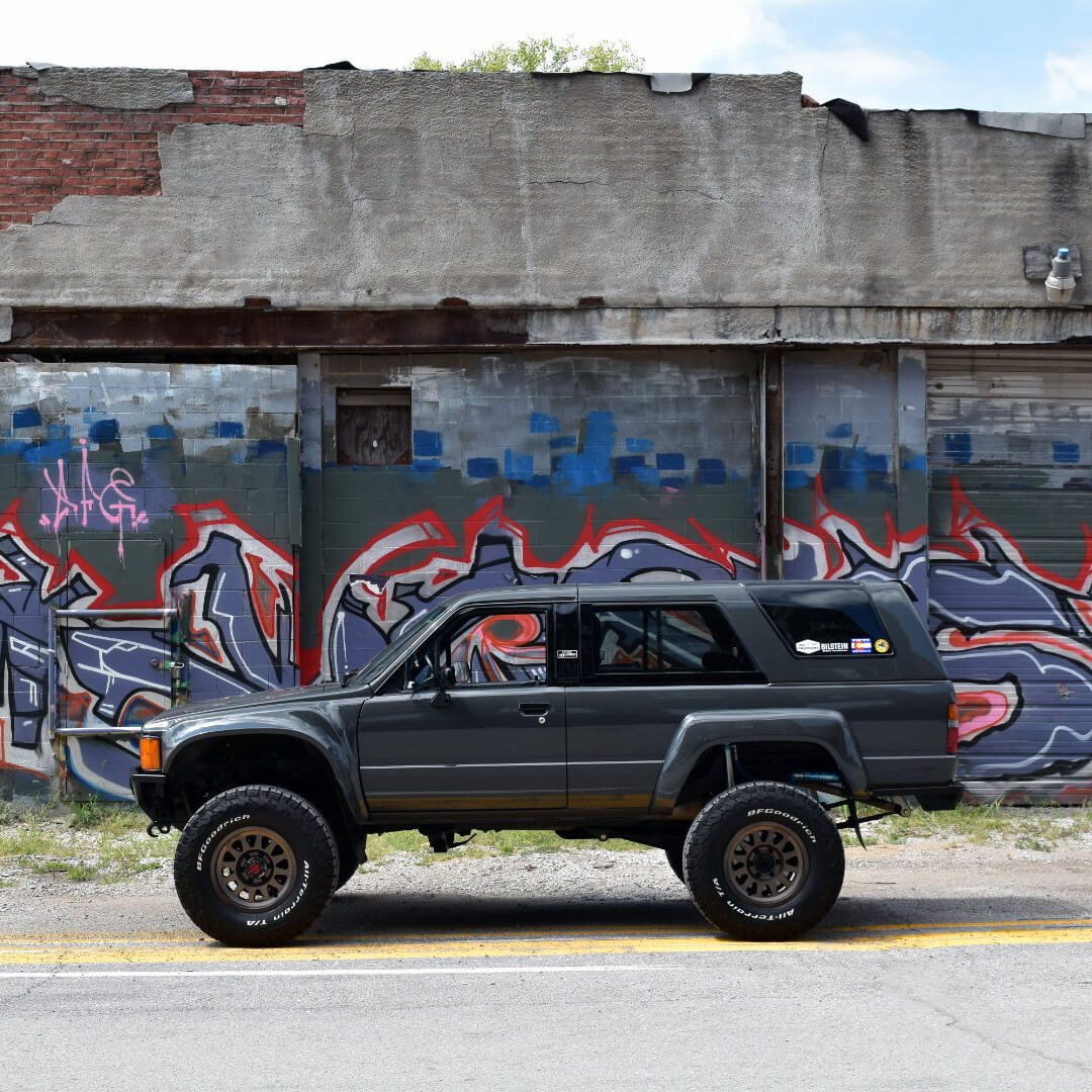 Restored and lifted 1988 Toyota 4runner 1st generation
