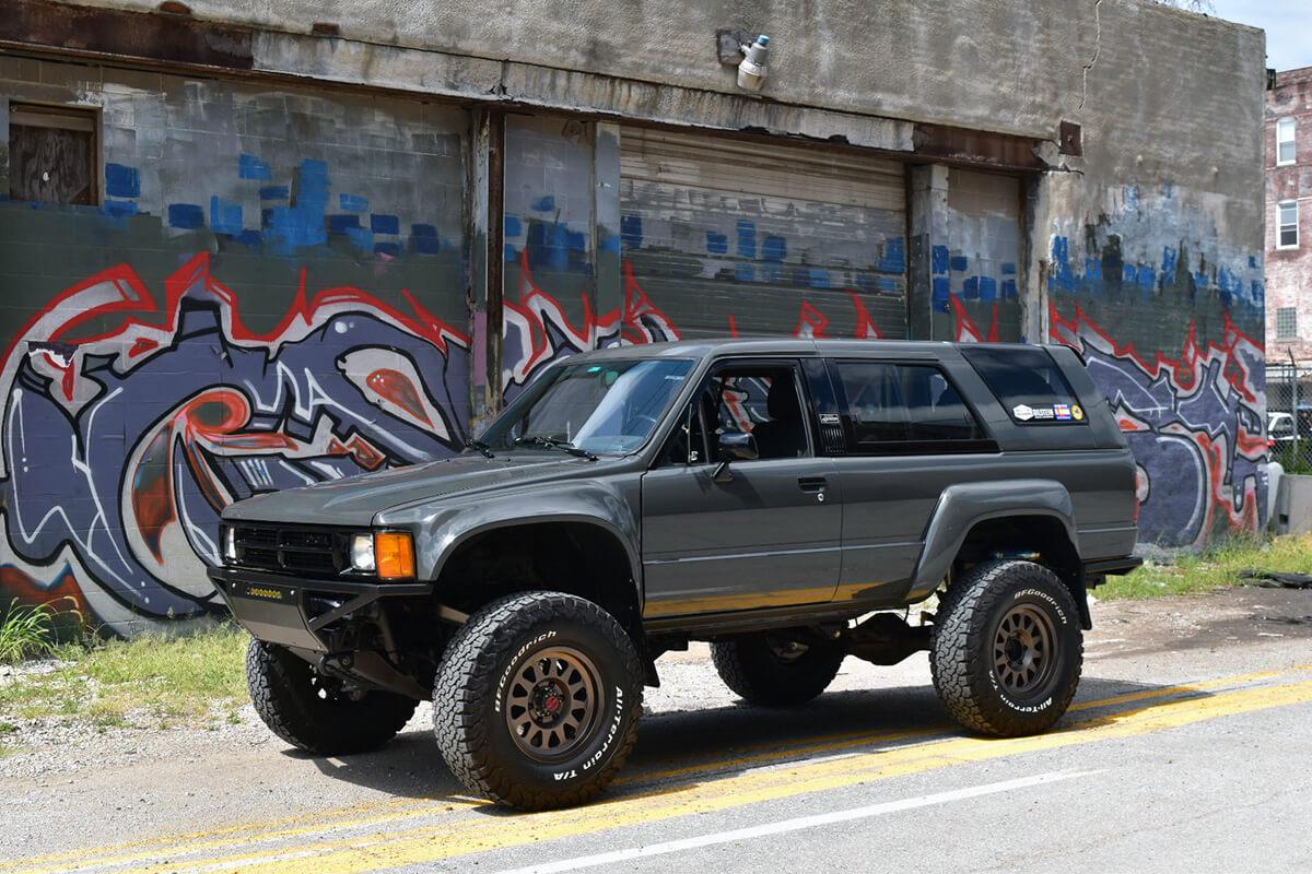 Prerunner bumper on a Toyota 4Runner