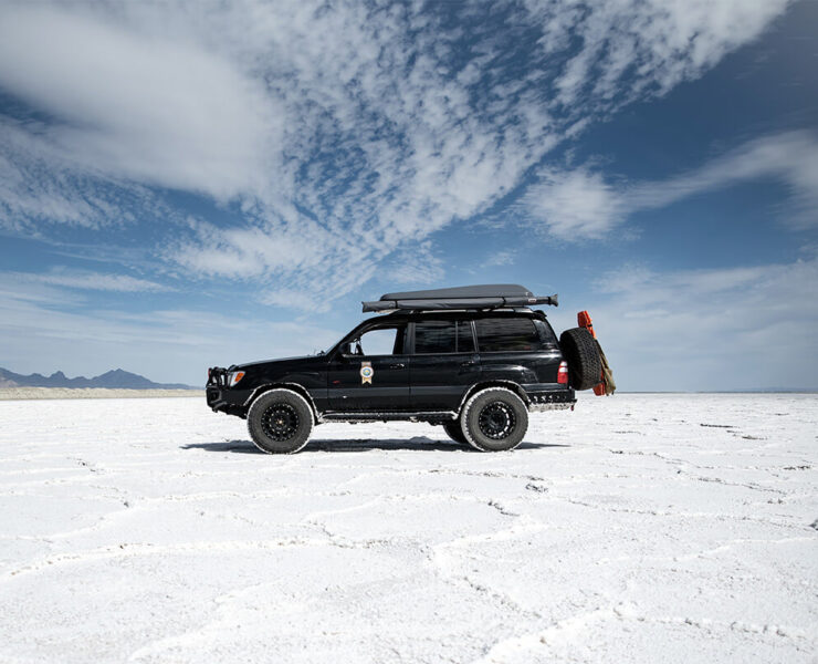 Lifted Toyota Land Cruiser 100 Overland Project