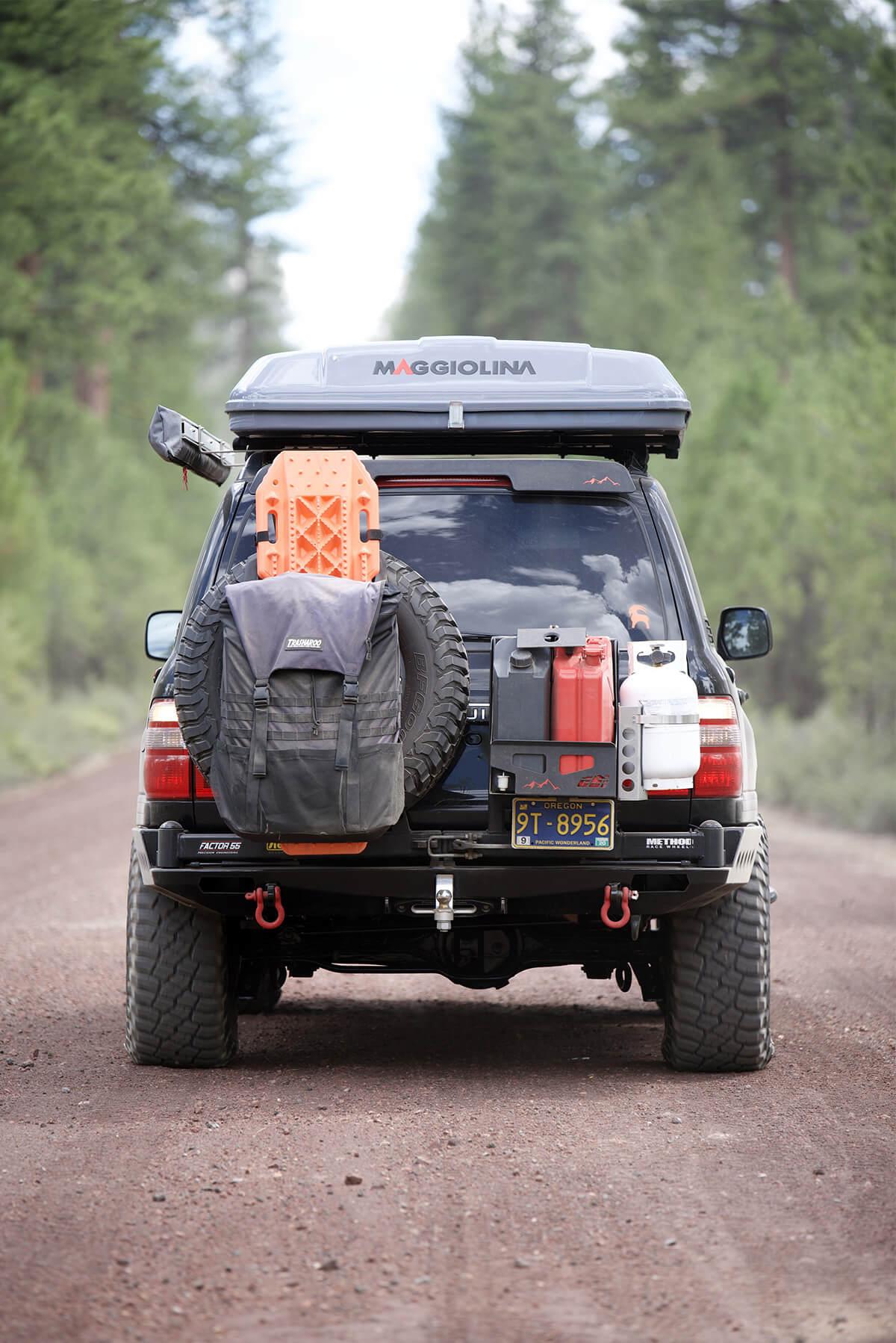 thrasharoo spare tire mount bag