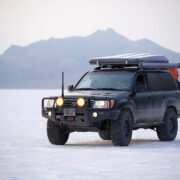 Toyota LC 100 overland adventure build