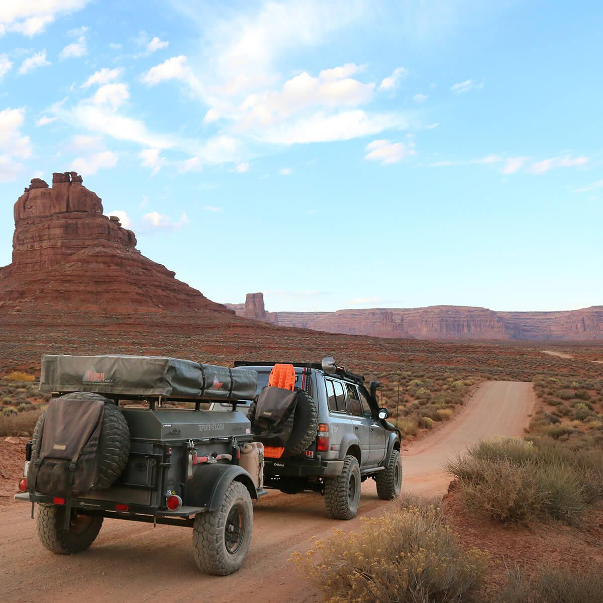 Overland travel trailer
