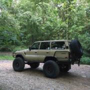 Land Cruiser FJ60 6 inch lift Leaf springs, track bar and some bilstein shocks