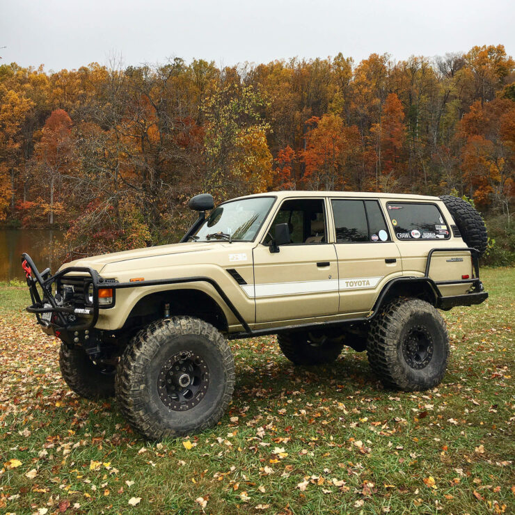 1985 Toyota Land Cruiser FJ60 on 40s – The Perfect Off-road Build