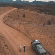 Overland adventures in Australia