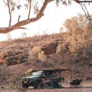 Toyota Land Cruiser overland setup