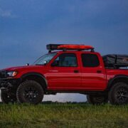 1st Gen Toyota Tacoma overland off-road project