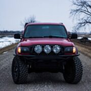 """1st Gen Toyota Tacoma 3"""" bilstein lift with toytec coils and a rear AAL"""
