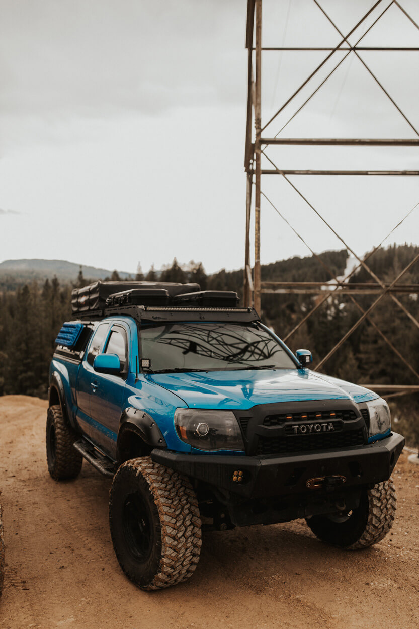 2008 toyota tacoma on 35 inch offroad tires