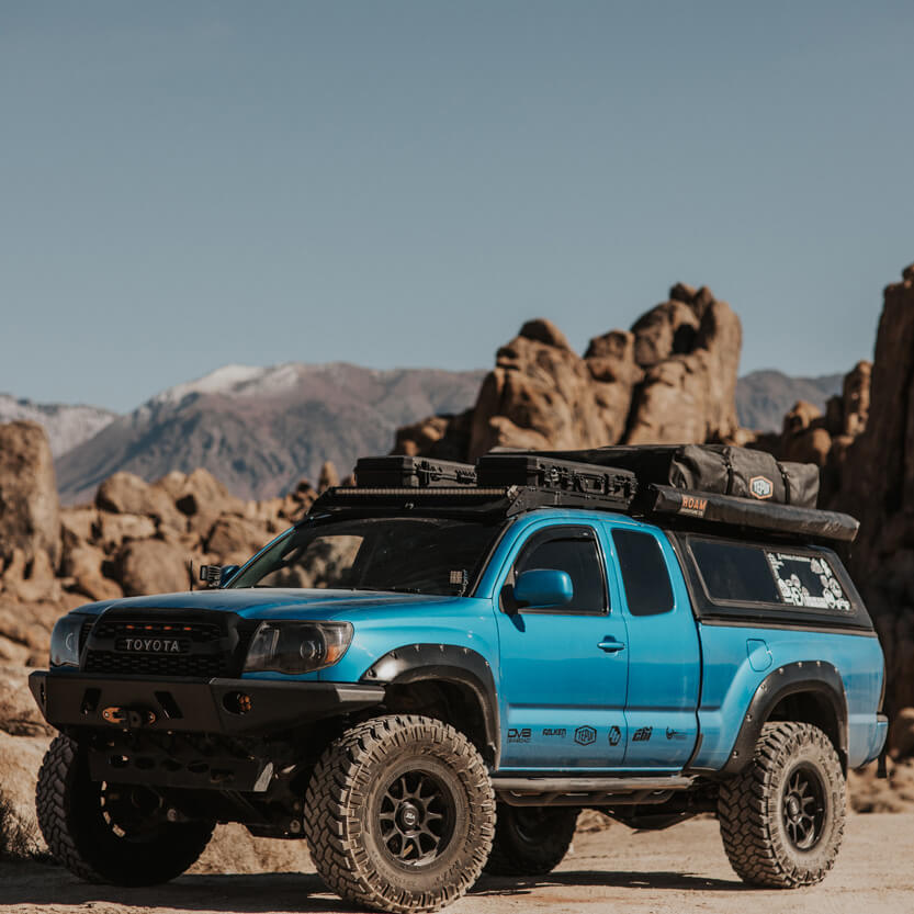 2008 Toyota Tacoma TRD Sport with a 6 inch lift
