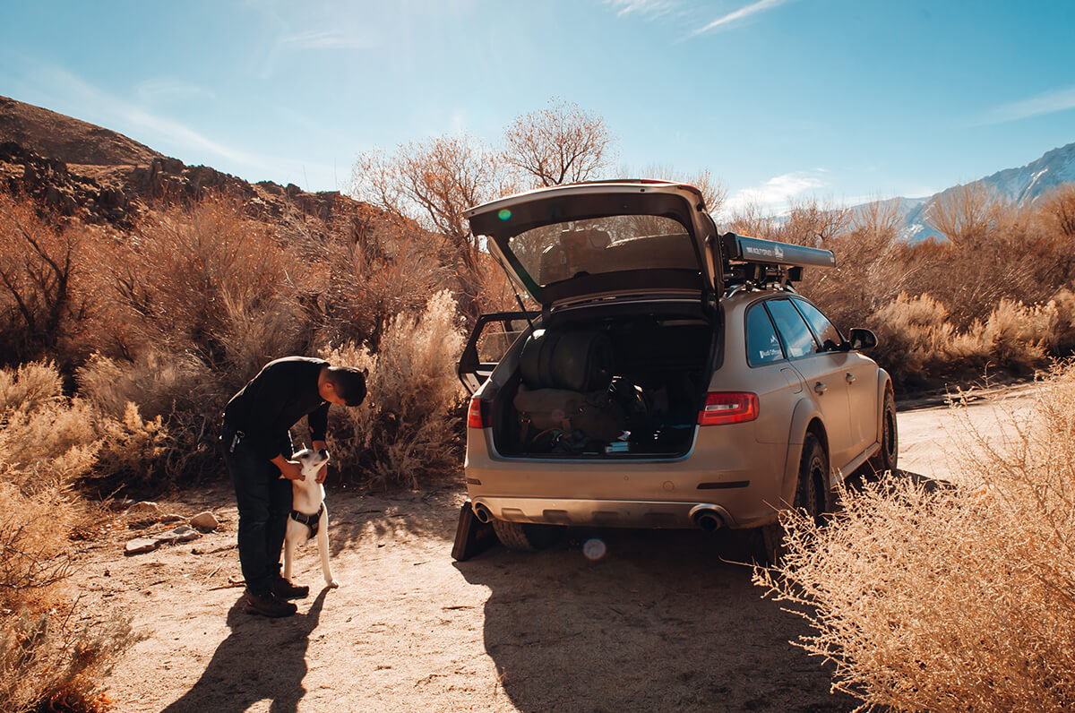 Audi Allroad overland adventure project