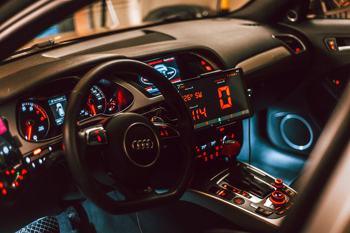 Audi Allroad interior modifications