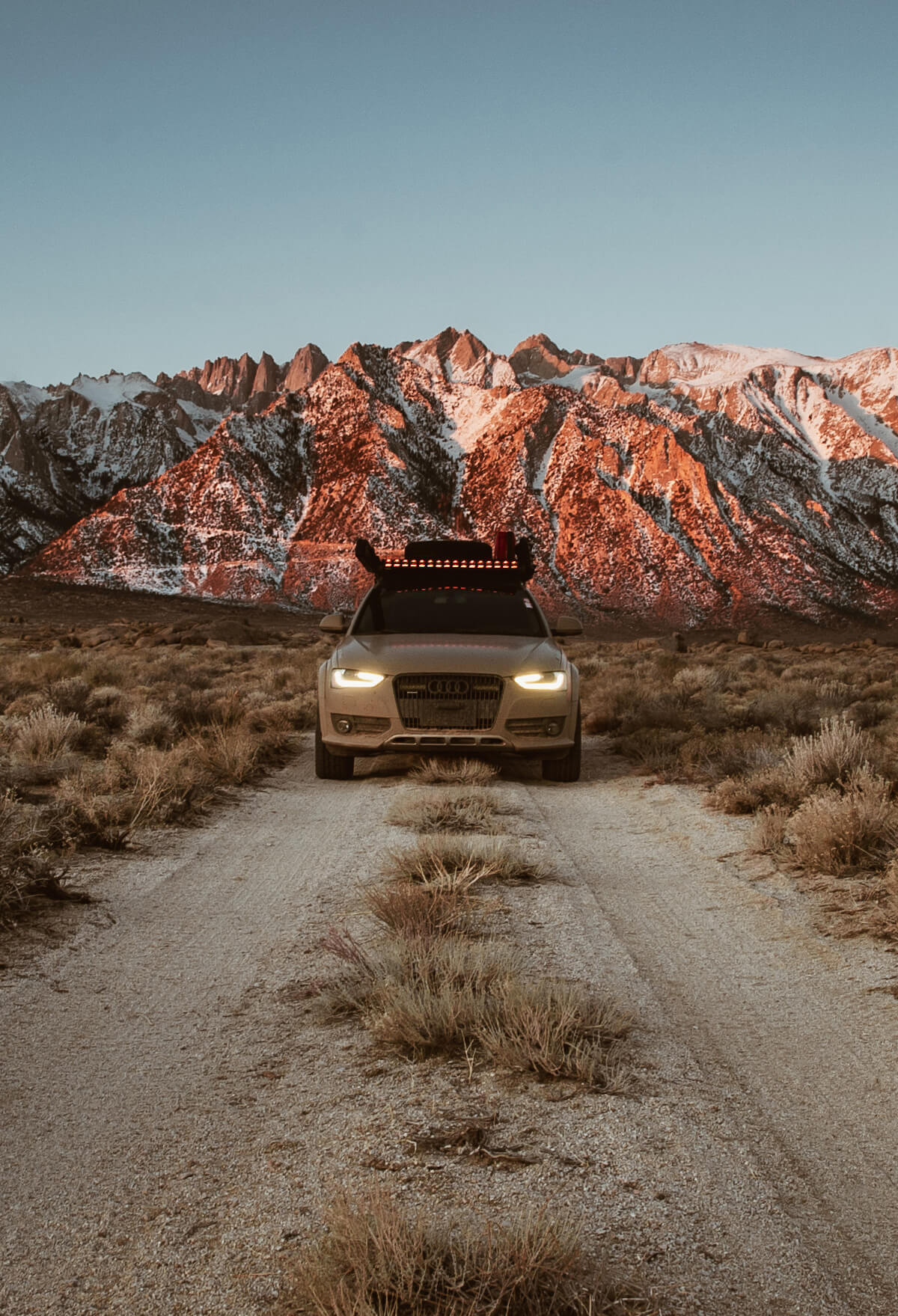Audi A4 Allroad Off-roading in the desert